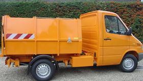 Bertsche LMV3,5 vuilniswagen zijlader